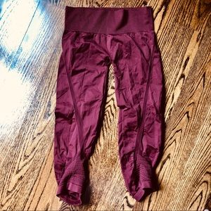 Like New MPG Athletic Workout Maroon Pants. L/XL
